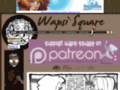 Wapsi Square - Slice of supernatural life YA comic PG-13 to R