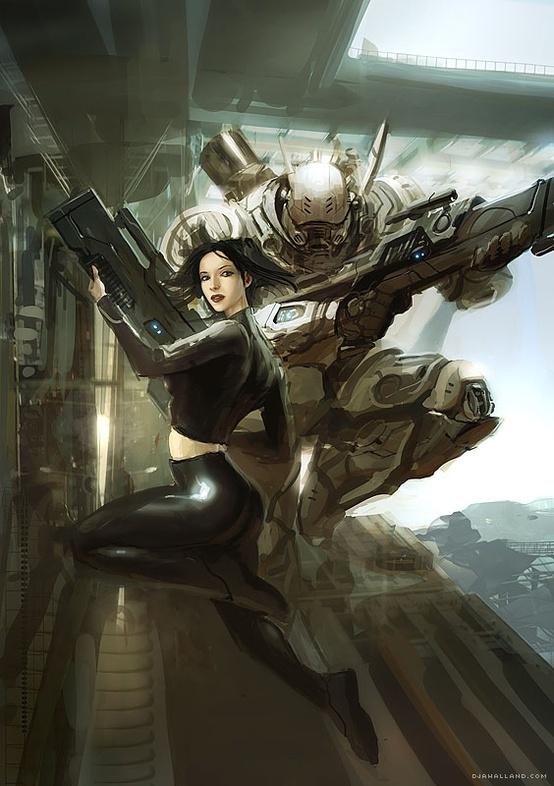 Cybergirl-Rifle