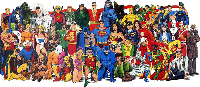 Comics: Some of DC's Icons