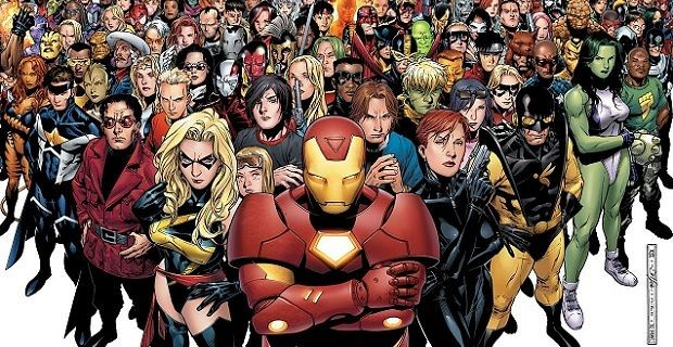 Comics: Marvel-cast-of-thousands