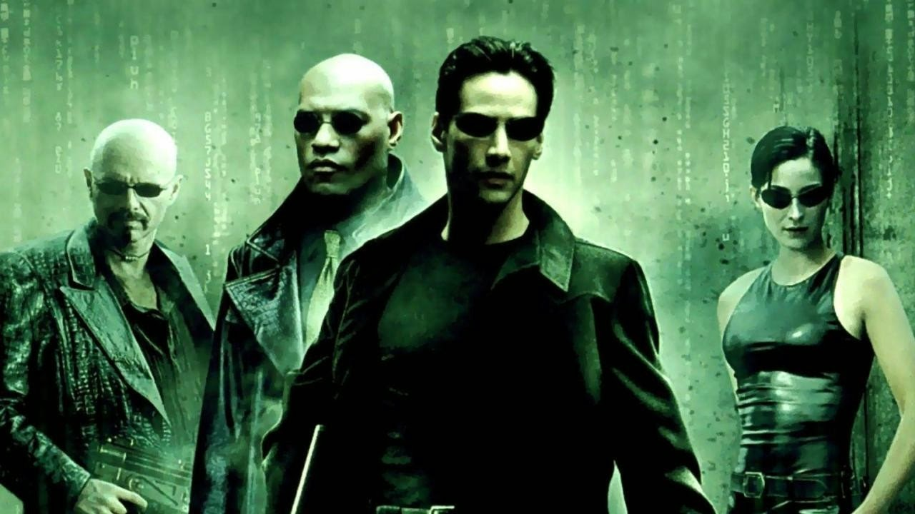 tropes, the matrix stole from anime, but its still good.